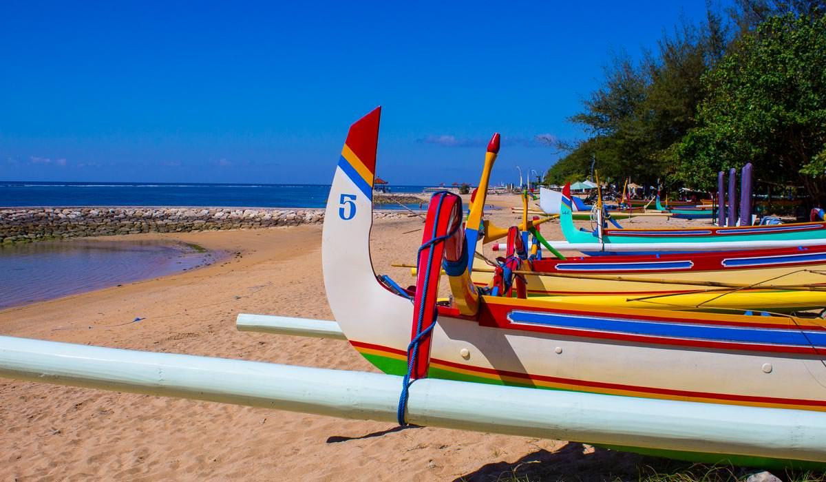 sanur-beach in Bali