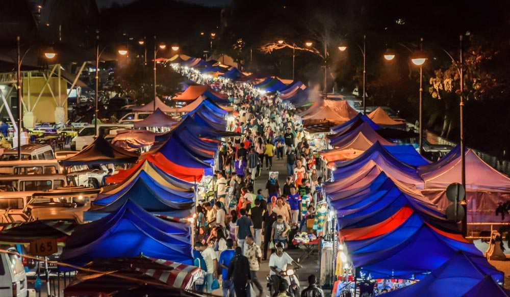 Night Shopping Markets Langkawi