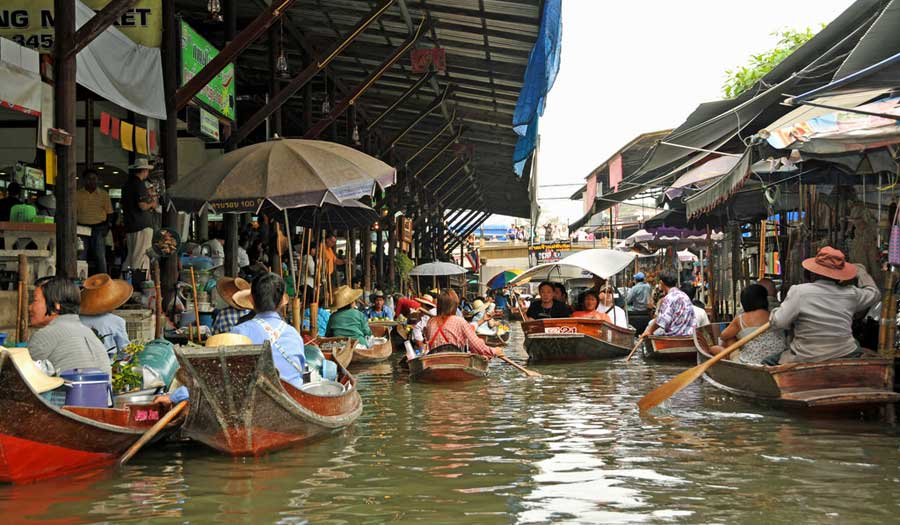 10 Most Amazing Floating Market You Need to Visit in Bangkok