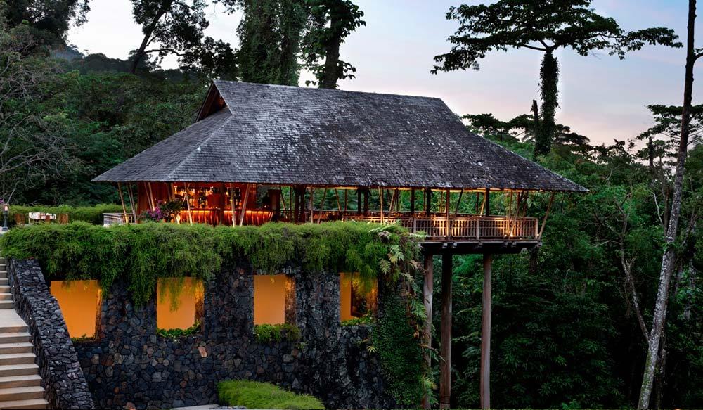 The Pavilion Restaurant in Datai
